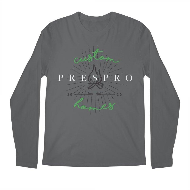FIRE Men's Longsleeve T-Shirt by PRESPRO CUSTOM HOMES