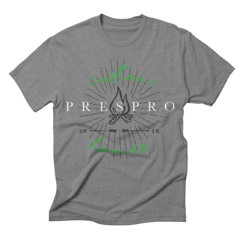 FIRE Men's Triblend T-shirt by PRESPRO CUSTOM HOMES