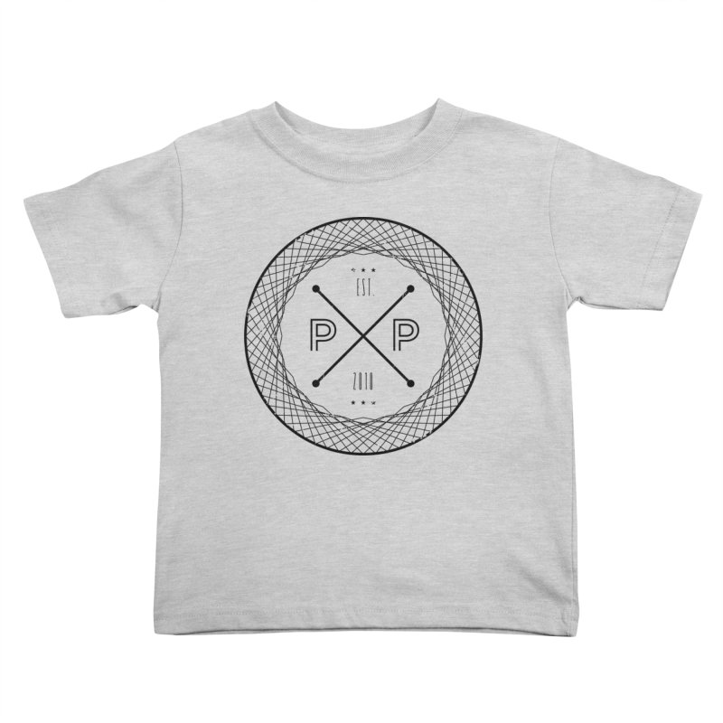 MARK-BLACK INK Kids Toddler T-Shirt by PRESPRO CUSTOM HOMES