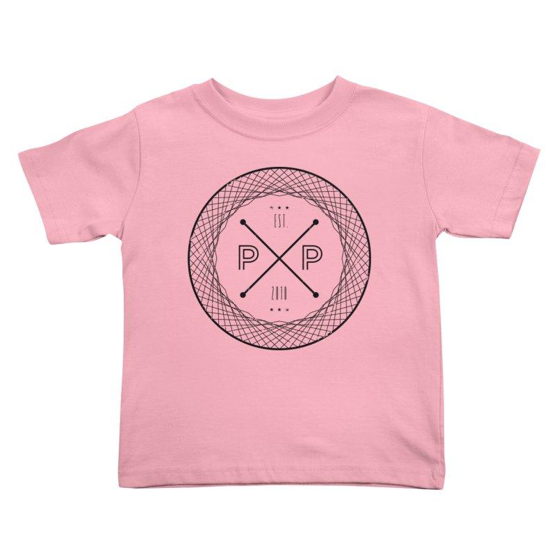 MARK-BLACK INK Kids Toddler T-Shirt by PRESPRO CUSTOM HOMES