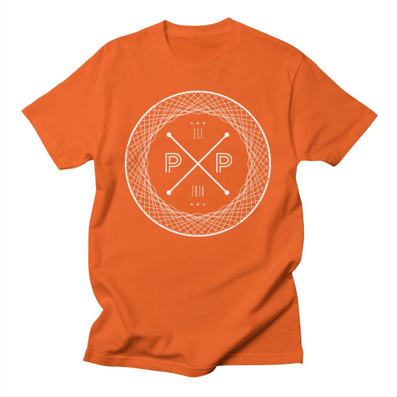 MARK-WHITE-INK Men's T-Shirt by PRESPRO CUSTOM HOMES