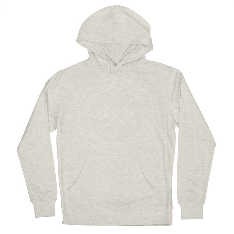 MARK-WHITE-INK Women's Pullover Hoody by PRESPRO CUSTOM HOMES