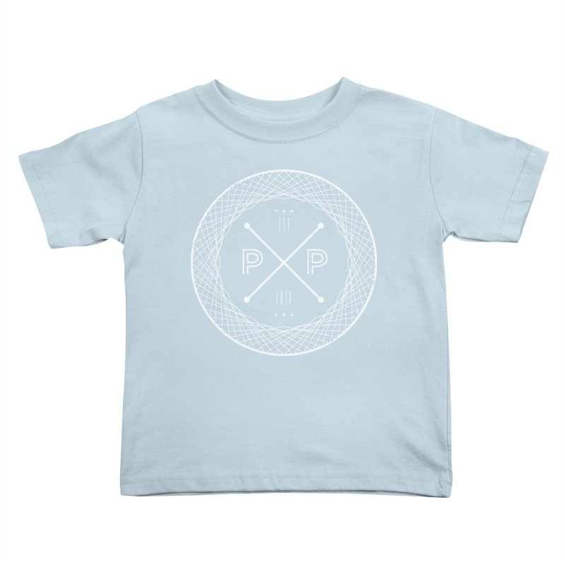 MARK-WHITE-INK Kids Toddler T-Shirt by PRESPRO CUSTOM HOMES