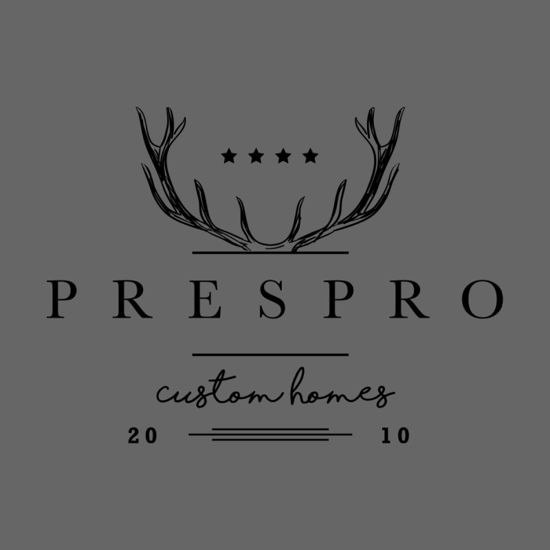 ANTLERS-BLACK INK by PRESPRO CUSTOM HOMES