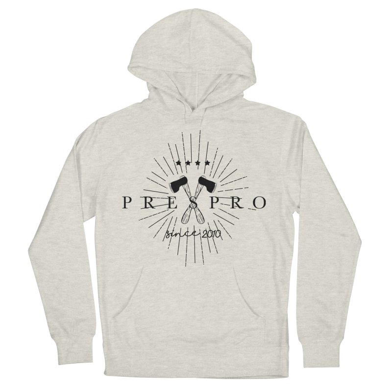 AXES-BLACK INK Men's French Terry Pullover Hoody by PRESPRO CUSTOM HOMES
