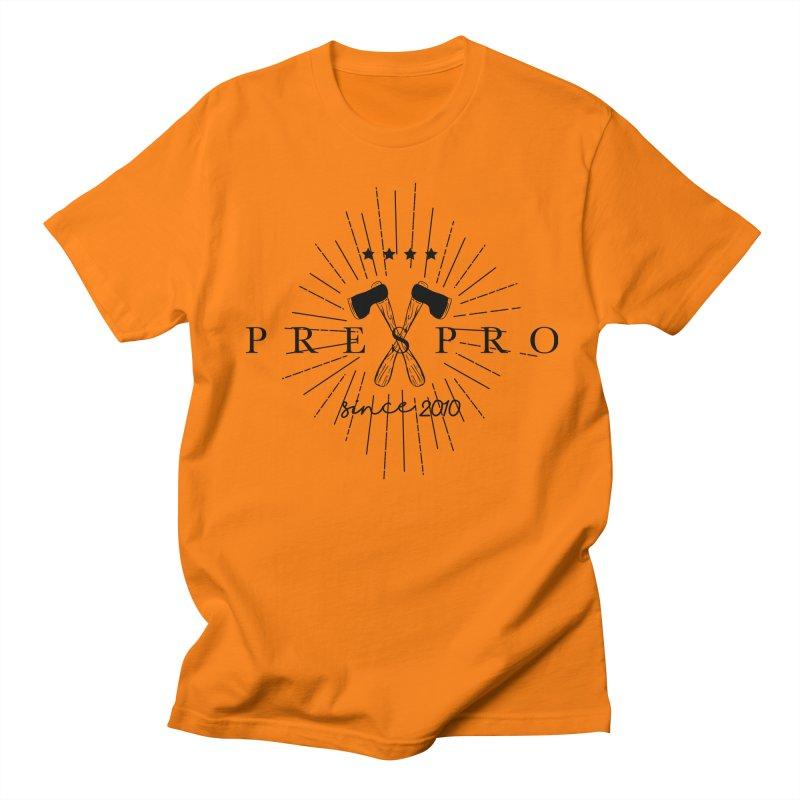 AXES-BLACK INK Men's Regular T-Shirt by PRESPRO CUSTOM HOMES