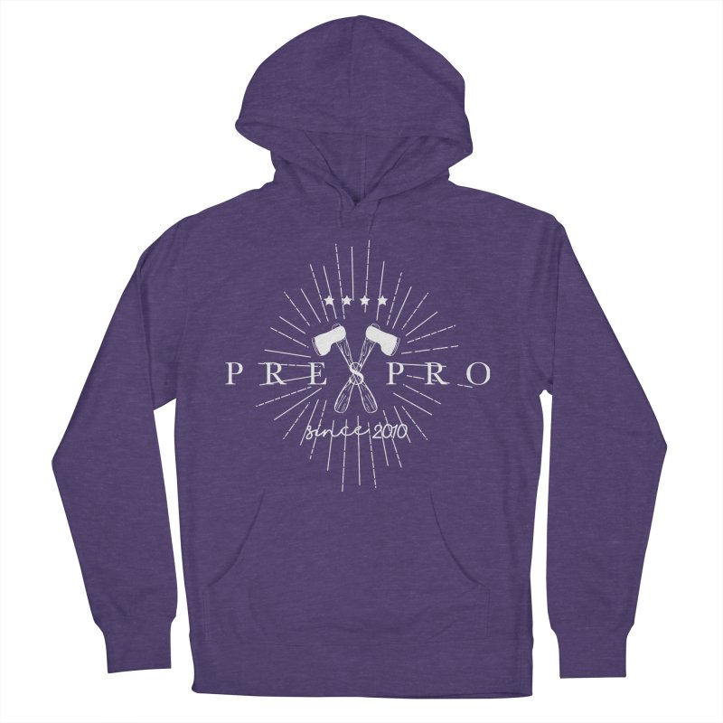 AXES-WHITE INK Men's Pullover Hoody by PRESPRO CUSTOM HOMES