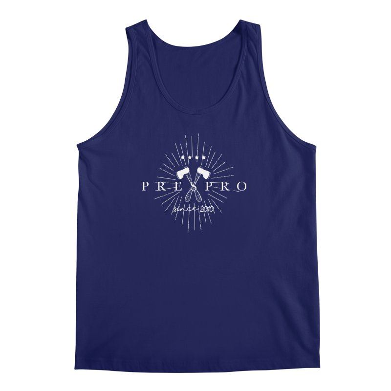 AXES-WHITE INK Men's Tank by PRESPRO CUSTOM HOMES