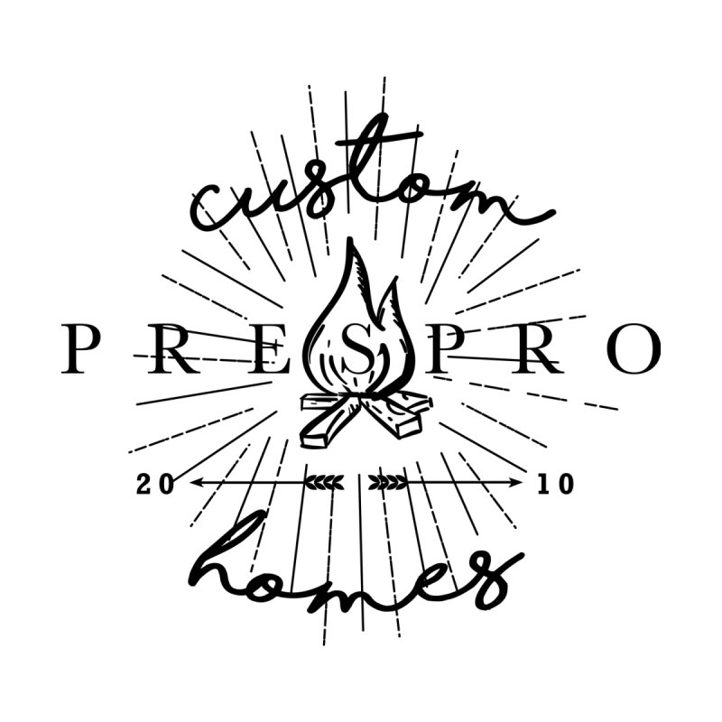 FIRE-BLACK INK by PRESPRO CUSTOM HOMES