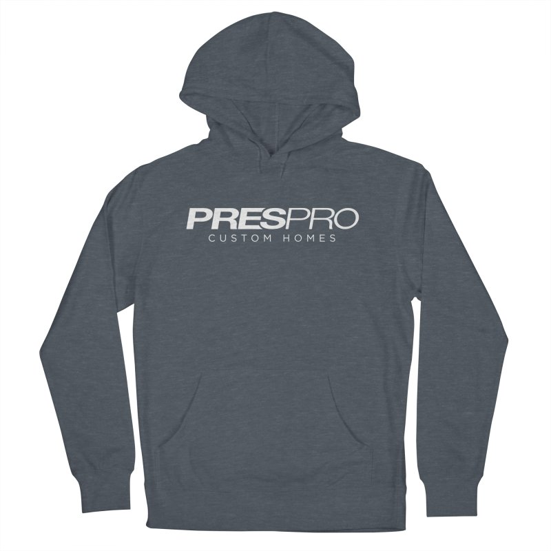 BRAND-WHITE INK Women's French Terry Pullover Hoody by PRESPRO CUSTOM HOMES