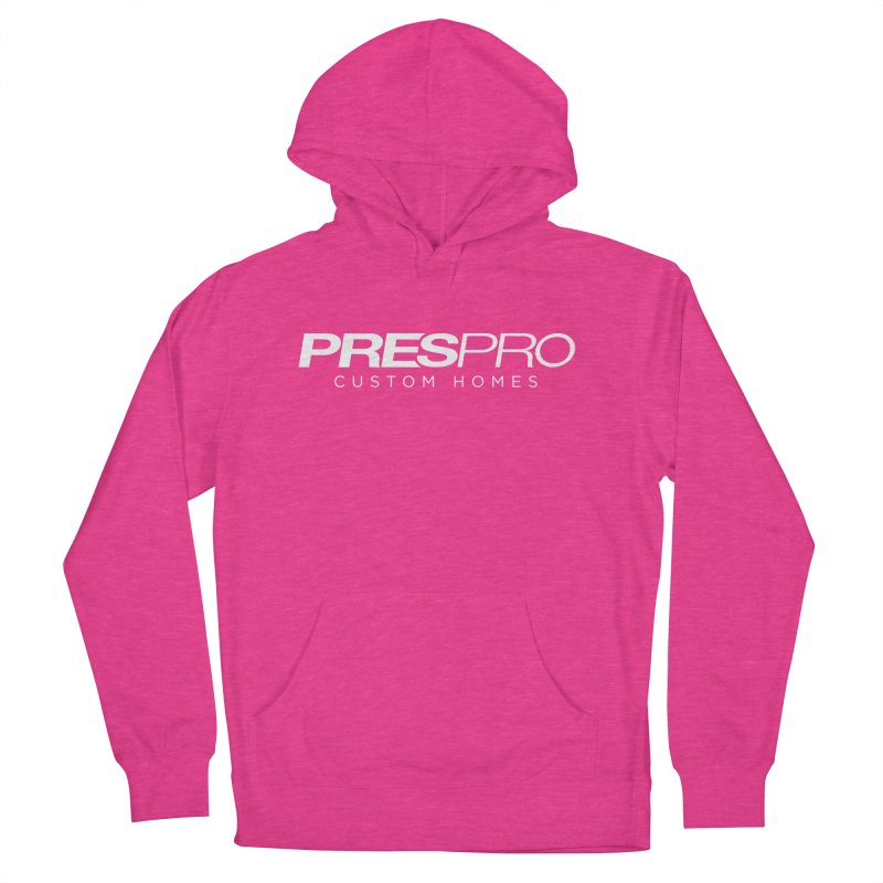 BRAND-WHITE INK Men's Pullover Hoody by PRESPRO CUSTOM HOMES