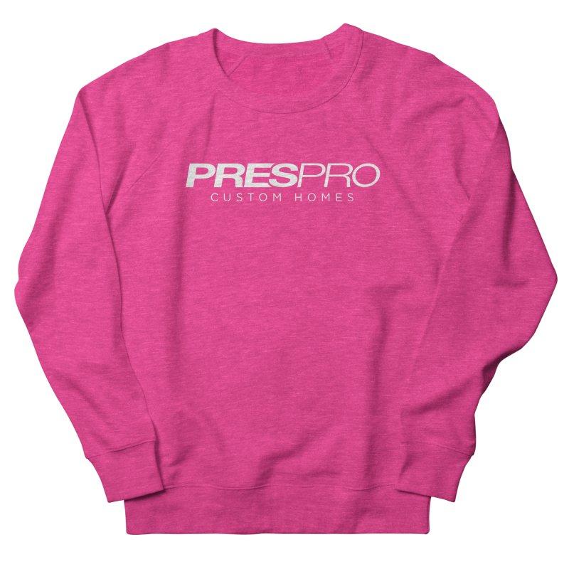 BRAND-WHITE INK Women's Sweatshirt by PRESPRO CUSTOM HOMES