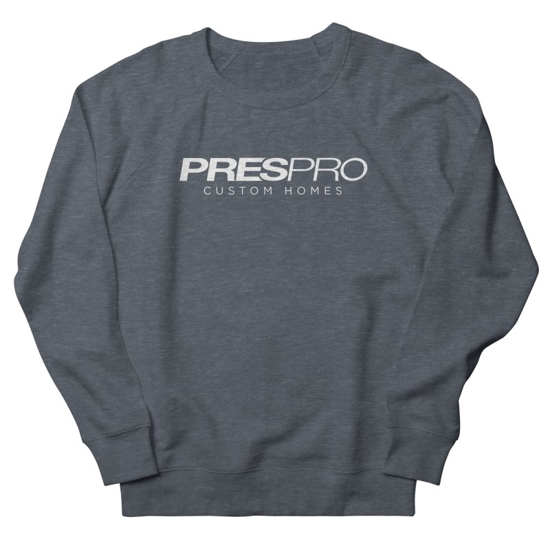 BRAND-WHITE INK Men's Sweatshirt by PRESPRO CUSTOM HOMES