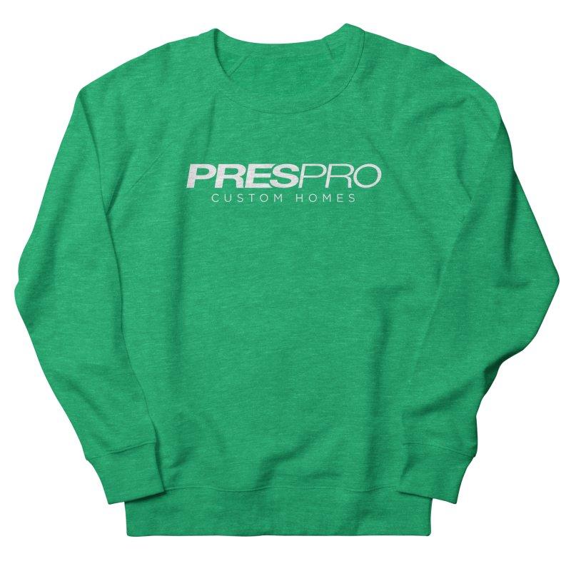 BRAND-WHITE INK Men's Sweatshirt by PRESPRO CUSTOM HOMES