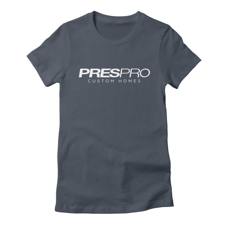 BRAND-WHITE INK Women's T-Shirt by PRESPRO CUSTOM HOMES