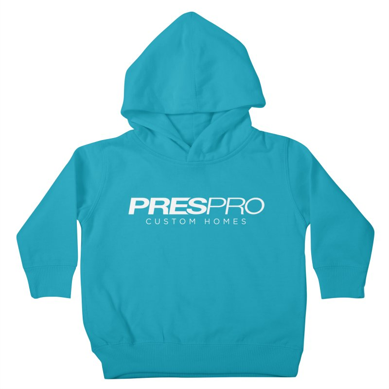 BRAND-WHITE INK Kids Toddler Pullover Hoody by PRESPRO CUSTOM HOMES