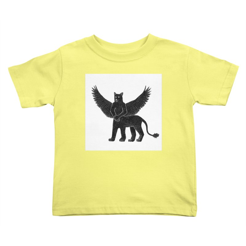 Preston Creature Kids Toddler T-Shirt by preston's Artist Shop