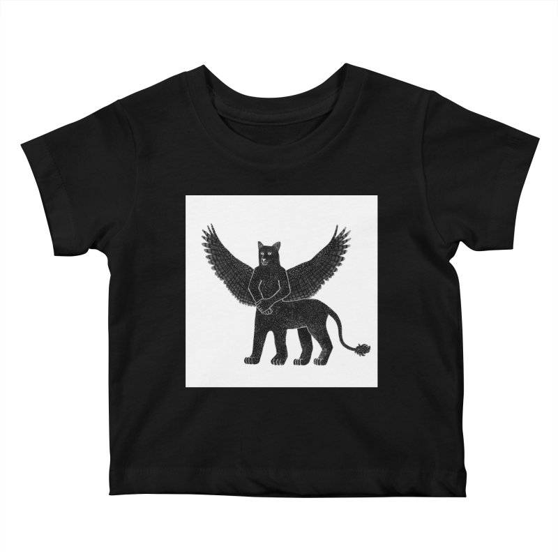 Preston Creature Kids Baby T-Shirt by preston's Artist Shop
