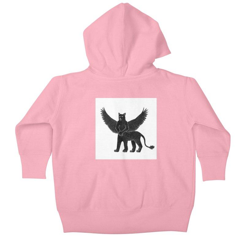 Preston Creature Kids Baby Zip-Up Hoody by preston's Artist Shop