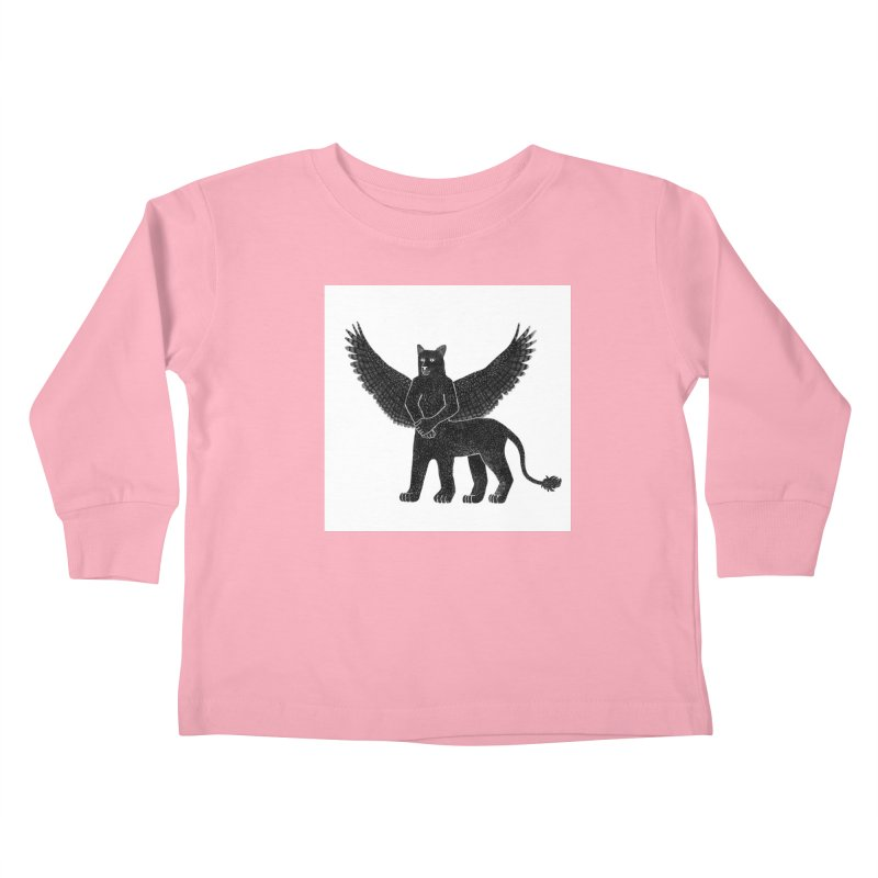 Preston Creature Kids Toddler Longsleeve T-Shirt by preston's Artist Shop