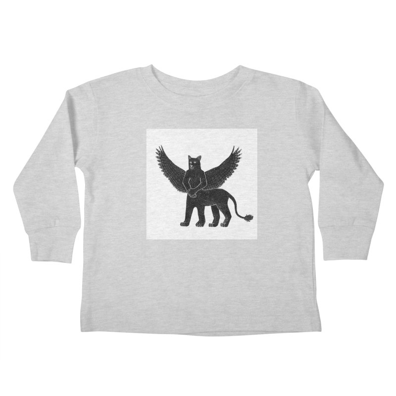 Preston Creature Kids Toddler Longsleeve T-Shirt by preston's Artist Shop