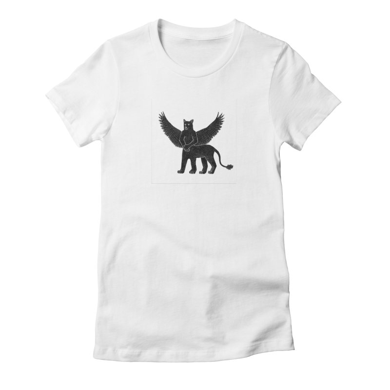 Preston Creature Women's Fitted T-Shirt by preston's Artist Shop