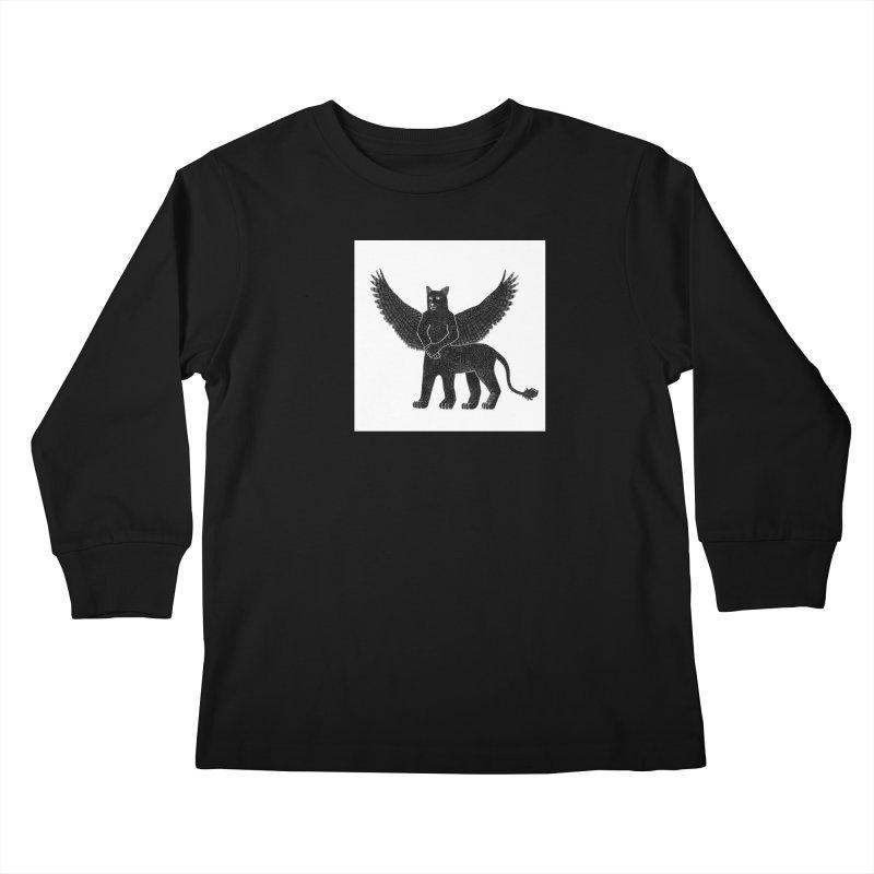 Preston Creature Kids Longsleeve T-Shirt by preston's Artist Shop
