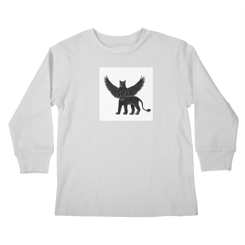 Preston Creature Kids Longsleeve T-Shirt by preston's Artist Shop