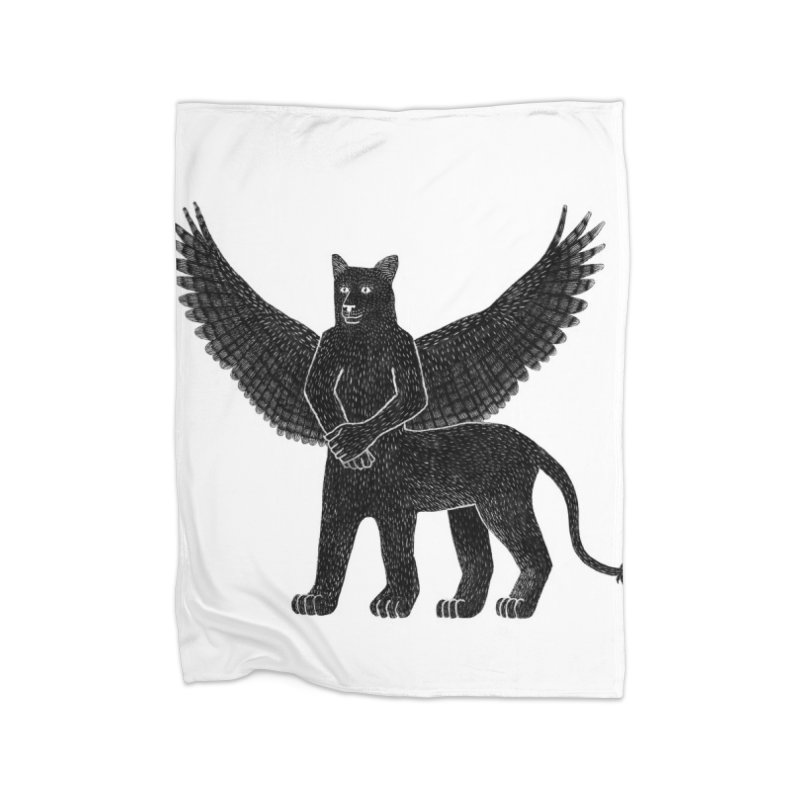 Preston Creature Home Blanket by preston's Artist Shop