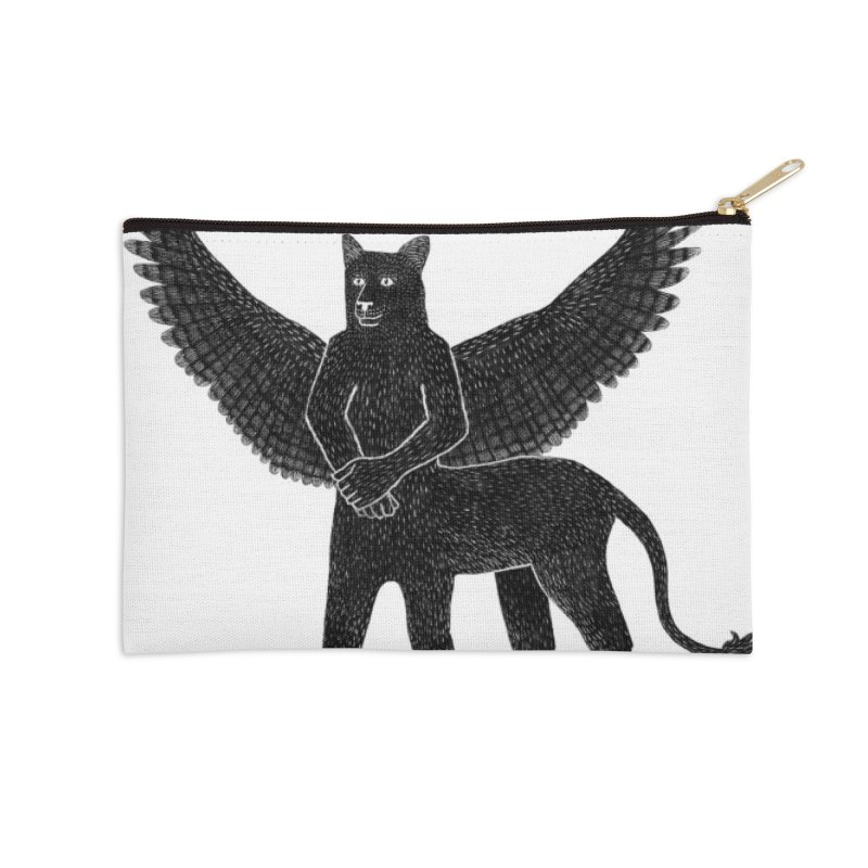Preston Creature Accessories Zip Pouch by preston's Artist Shop