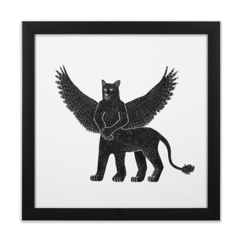 Preston Creature Home Framed Fine Art Print by preston's Artist Shop