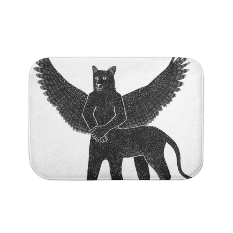 Preston Creature Home Bath Mat by preston's Artist Shop