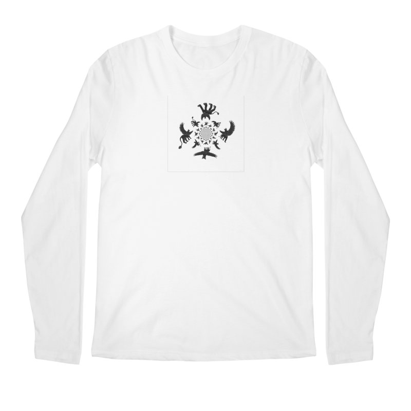 Preston Creature Inversion Men's Regular Longsleeve T-Shirt by preston's Artist Shop