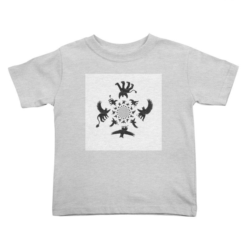 Preston Creature Inversion Kids Toddler T-Shirt by preston's Artist Shop