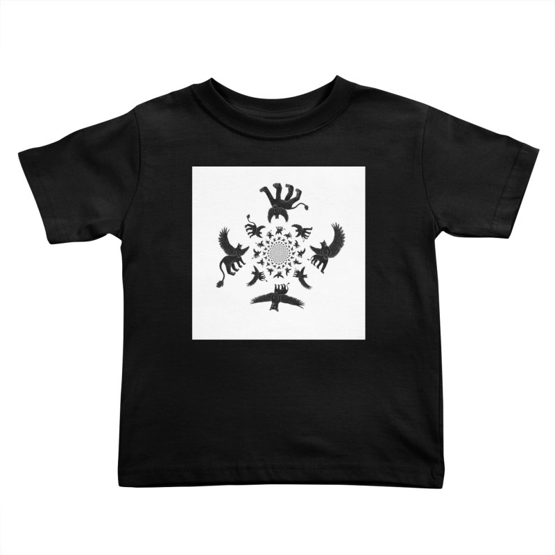 Preston Creature Inversion Kids Toddler T-Shirt by preston's Artist Shop