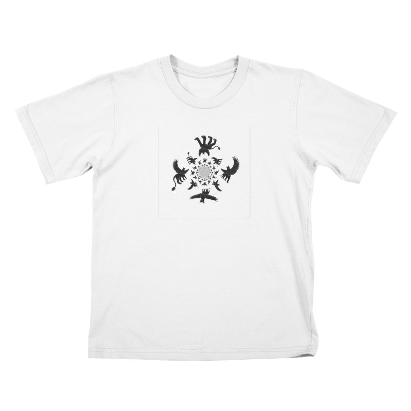 Preston Creature Inversion Kids T-Shirt by preston's Artist Shop