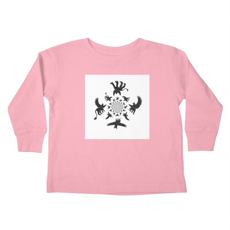 Preston Creature Inversion Kids Toddler Longsleeve T-Shirt by preston's Artist Shop