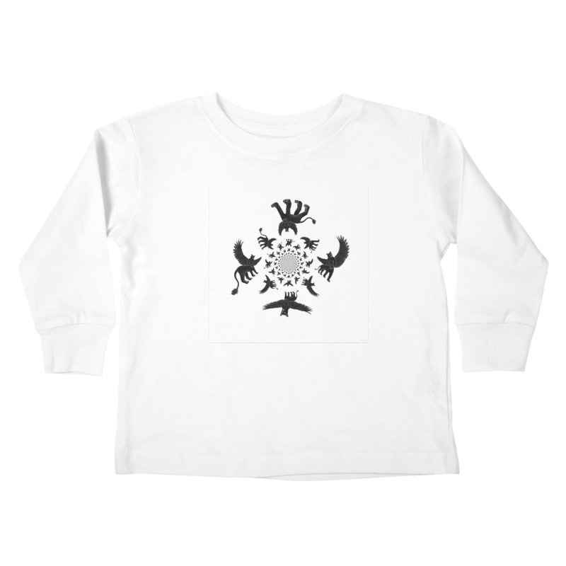 Preston Creature Inversion Kids Toddler Longsleeve T-Shirt by preston's Artist Shop