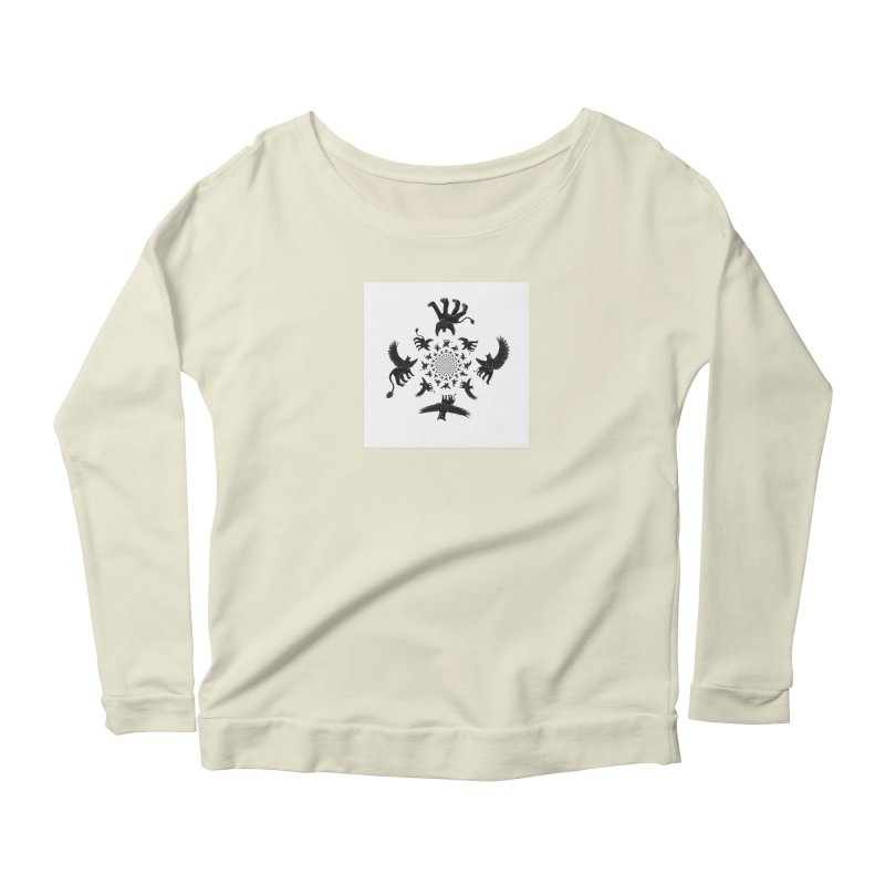 Preston Creature Inversion Women's Scoop Neck Longsleeve T-Shirt by preston's Artist Shop