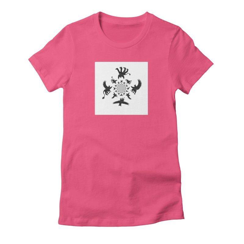 Preston Creature Inversion Women's Fitted T-Shirt by preston's Artist Shop