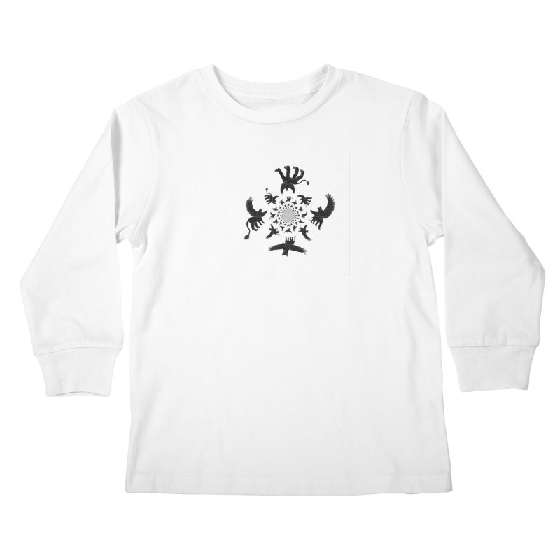 Preston Creature Inversion Kids Longsleeve T-Shirt by preston's Artist Shop