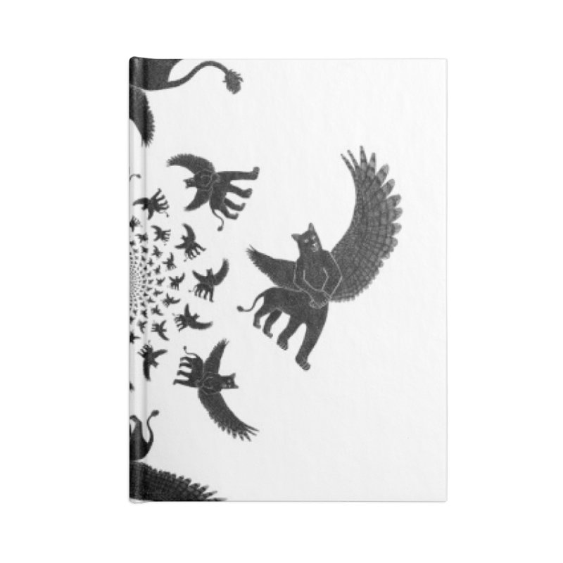 Preston Creature Inversion Accessories Notebook by preston's Artist Shop