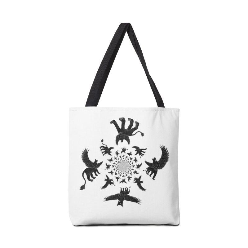 Preston Creature Inversion Accessories Tote Bag Bag by preston's Artist Shop