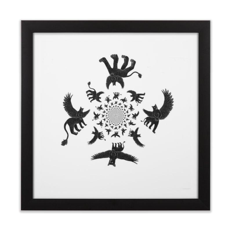 Preston Creature Inversion Home Framed Fine Art Print by preston's Artist Shop