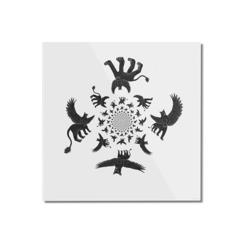 Preston Creature Inversion Home Mounted Acrylic Print by preston's Artist Shop