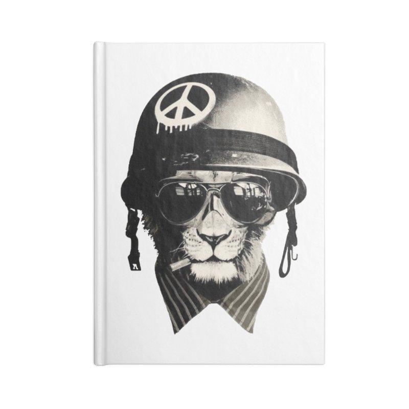 Warcat Accessories Notebook by Pretty Hate Machining's Artist Shop