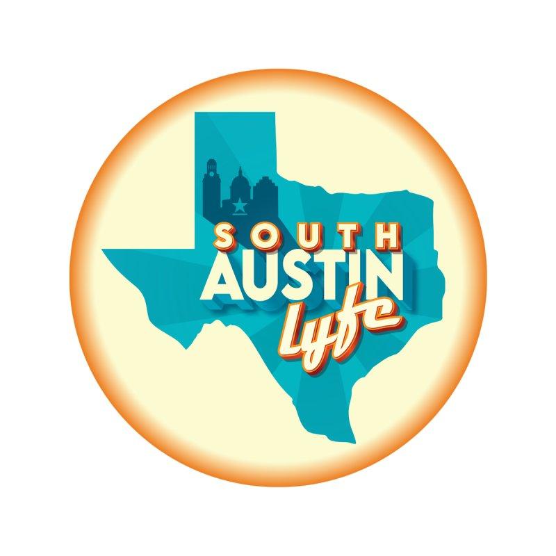 South Austin Lyfe Men's Longsleeve T-Shirt by Pretty Hate Machining's Artist Shop