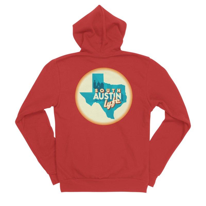 South Austin Lyfe Women's Zip-Up Hoody by Pretty Hate Machining's Artist Shop