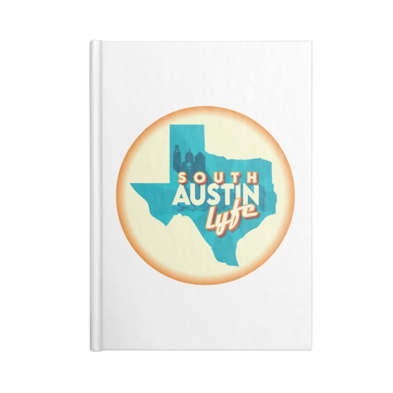 South Austin Lyfe Accessories Notebook by Pretty Hate Machining's Artist Shop