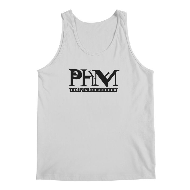 Black PHM logo Men's Regular Tank by Pretty Hate Machining's Artist Shop